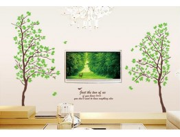 Tree Wall Decals HM1698AB