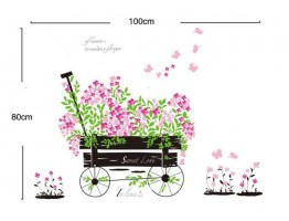 Floral Wall Decals HM1705