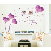 Wall Decals: Heart Wall Decals HM17176D