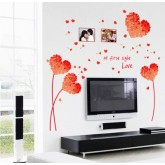 Wall Decals: Heart Wall Decals HM17176E