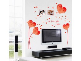 Heart Wall Decals HM17176E