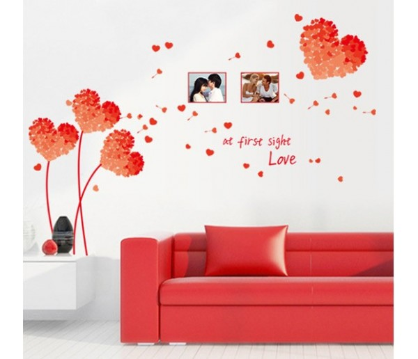 Wall Decals Heart Wall Decals HM17176E