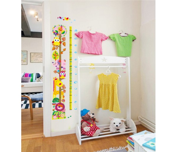 Wall Decals Kids Height Chart Wall Decals HM17241