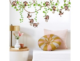 Monkey Wall Decals HM17247