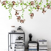 Wall Decals Monkey Wall Decals HM17247