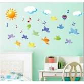 Wall Decals: Birds Wall Decals HM17265