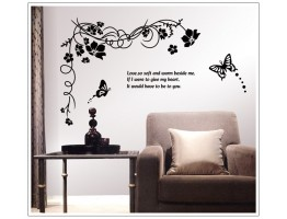Floral Wall Decals HM1817