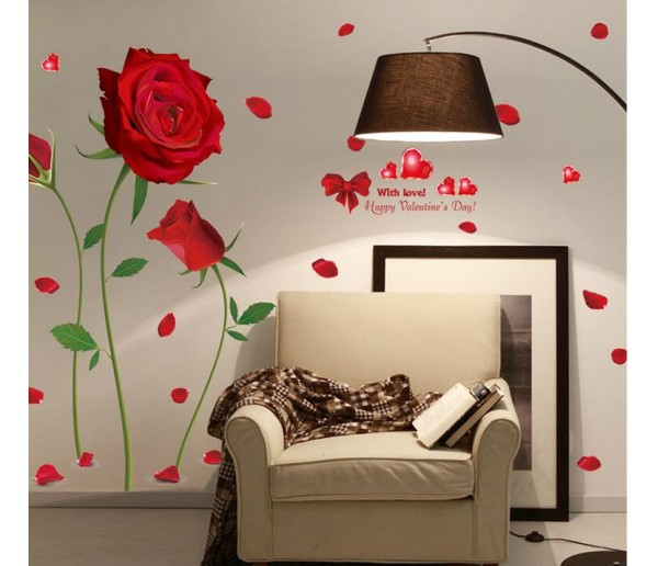 Wall Decals: Floral Wall Decals HM18178