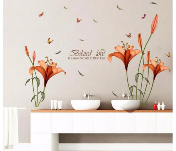 Wall Decals: Floral Wall Decals HM18195