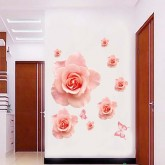 Wall Decals Rose Flower Wall Decals HM1889