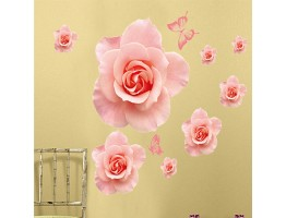 Rose Flower Wall Decals HM1889