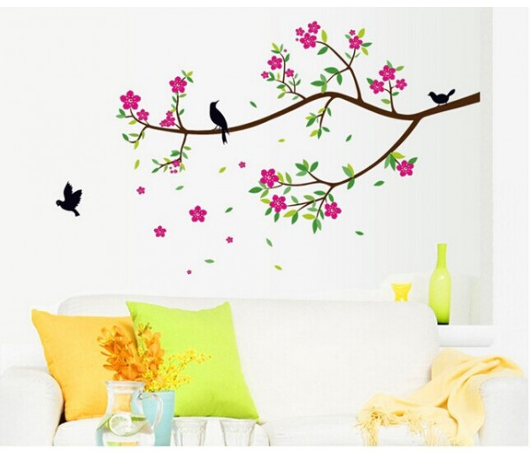 Wall Decals: Tree Branch Wall Decals HM19033