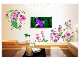 Floral Wall Decals HM19041