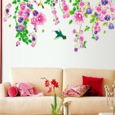 Wall Decals: Floral Wall Decals HM19041