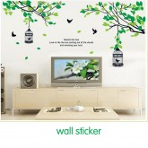 Wall Decals: Tree and Birds Wall Decals HM19045