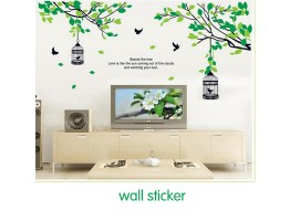 Tree and Birds Wall Decals HM19045