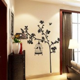 Wall Decals Tree and Birds Wall Decals HM19047