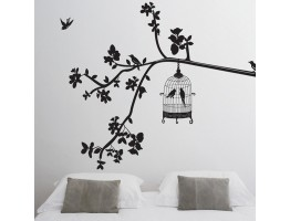 Tree and Birds Wall Decals HM19047