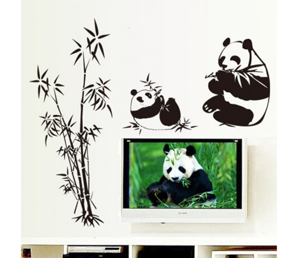 Wall Decals: Panda Wall Decals HM19051