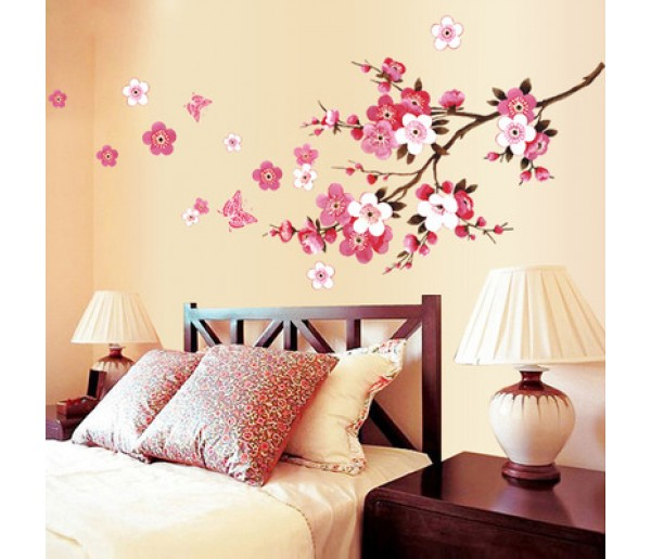 Wall Decals Floral Wall Decals HM19053