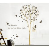 Wall Decals: Tree Wall Decals HM19055