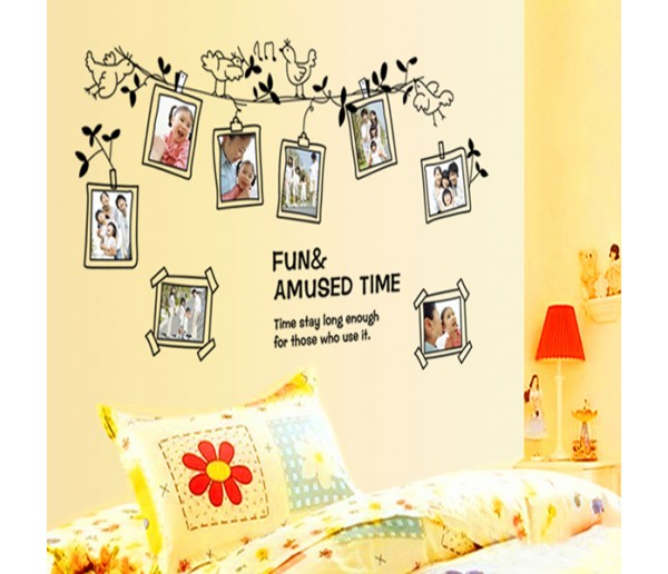 Wall Decals: Photo Frame Wall Decals HM19136