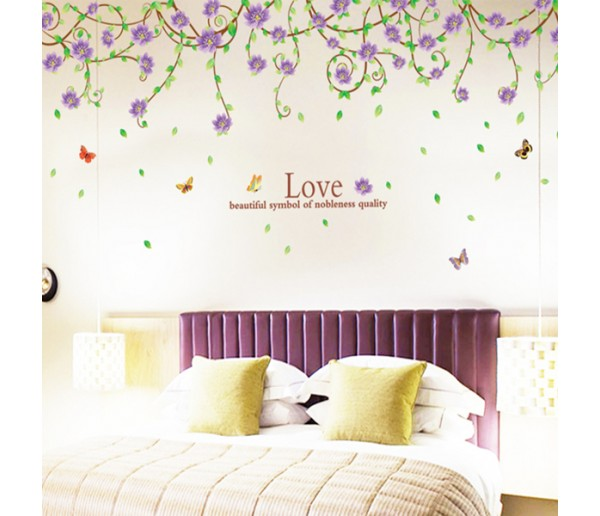Wall Decals Floral Wall Decals HM19150B