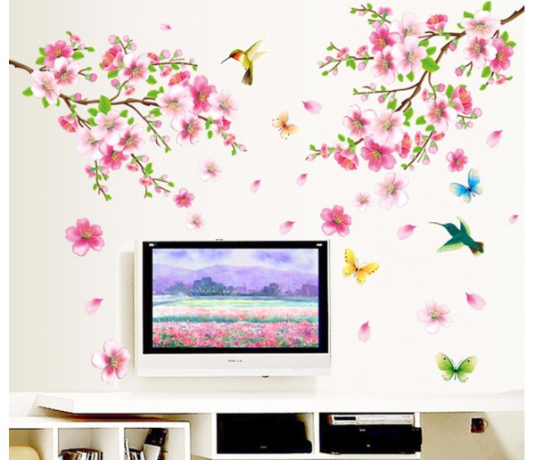Wall Decals: Floral Wall Decals HM19158