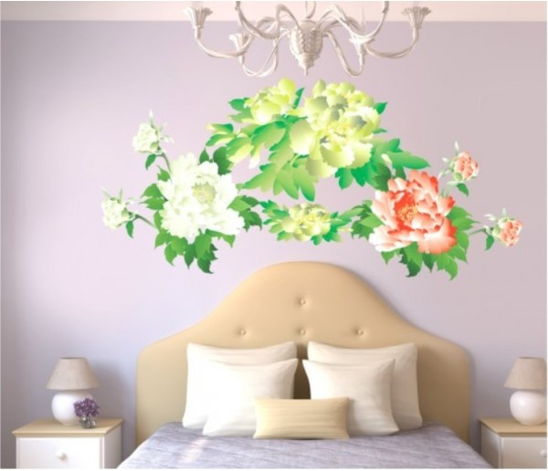 Wall Decals: Floral Wall Decals HM1916