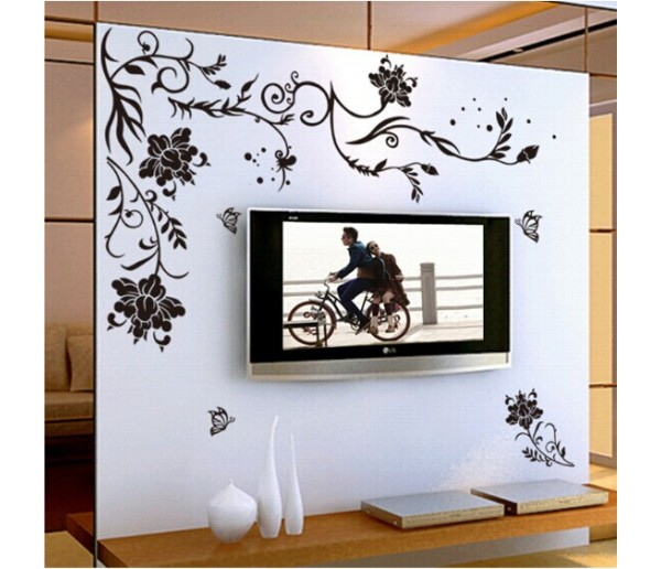 Wall Decals: Floral Wall Decals HM19166