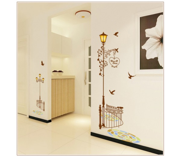 Wall Decals: Lamp Wall Decals HM19202