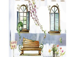 Garden Wall Decals HM1939