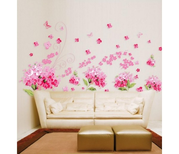 Wall Decals: Floral Wall Decals HM1957
