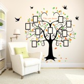 Wall Decals: Photo Frame Tree Wall Decals HM1SK2010W