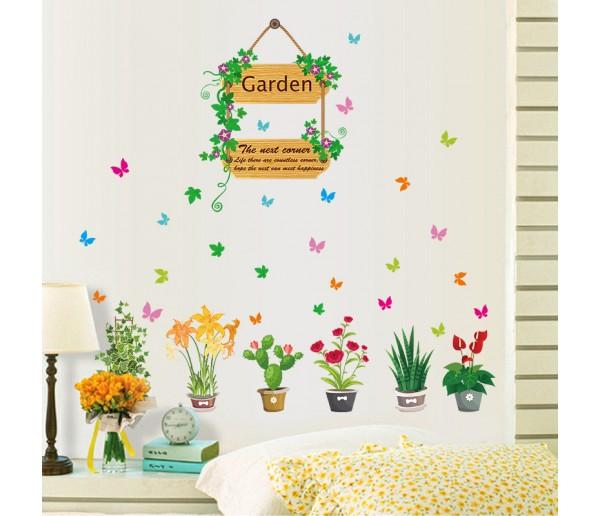 Wall Decals: Garden Wall Decals HM1SK7066