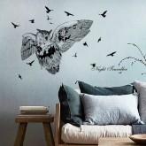 Owl Bird Wall Decals HM1SK7108
