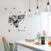 Wall Decals: Owl Bird Wall Decals HM1SK7108