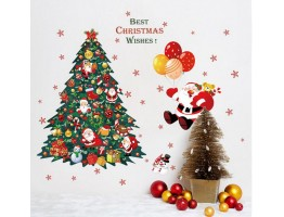 Christmas Tree Wall Decals HM1SK9116