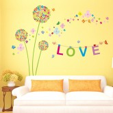 Wall Decals Dandelion Wall Decals HM1XH9233