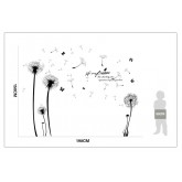 Wall Decals Dandelion Wall Decals HM1XL8259