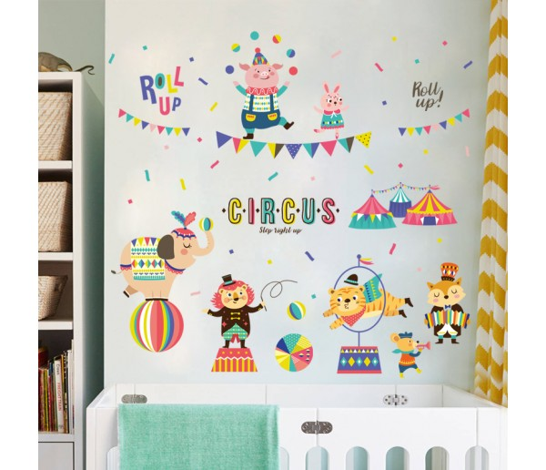 Wall Decals Kids Circus Wall Decals HM1XL8299