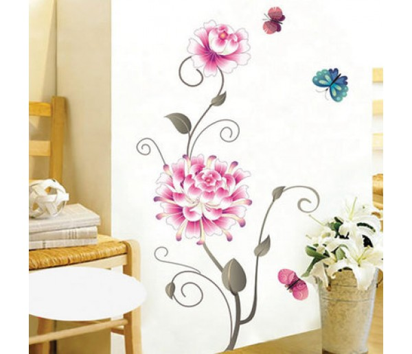 Wall Decals: Floral Wall Decals HM48046