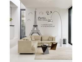 Paris Eiffel TowerWall Decals HM48145