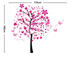 Tree and Heart Wall Decals HM57165