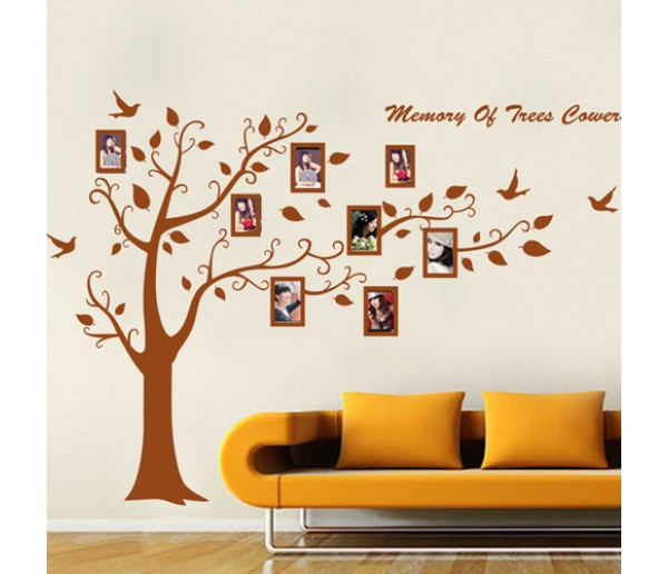 Wall Decals: Photo Frame Tree Wall Decals HM57194AB