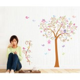 Owl Tree Wall Decals HM57250AB