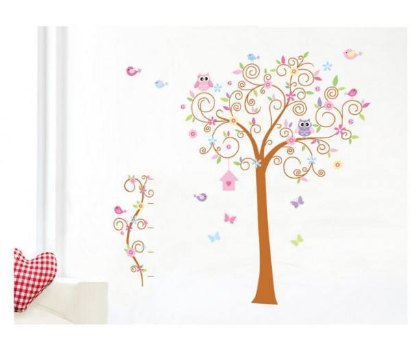 Wall Decals Owl Tree Wall Decals HM57250AB