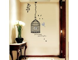 Birds Cage Wall Decals HM58218