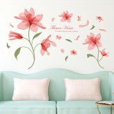 Wall Decals: Floral Wall Decals HM77126