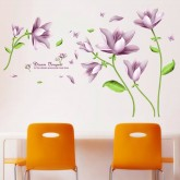 Wall Decals: Floral Wall Decals HM77127